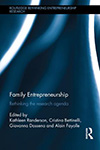 Family Entrepreneurship. Rethinking the research agenda