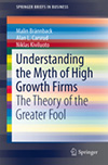 Understanding the Myth of High Growth Firms. The Theory of the Greater Fool