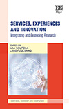 Services, Experiences and Innovation. Integrating and Extending Research