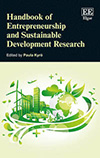 Handbook of Entrepreneurship and Sustainable Development Research