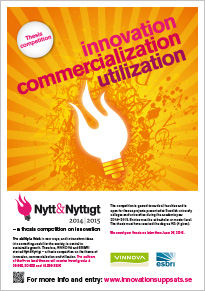 Nytt&Nyttigt � A thesis competition on innovation