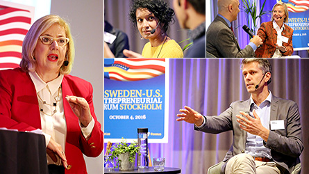 Nyhetsbild: The Sweden-U.S. Entrepreneurial Forum